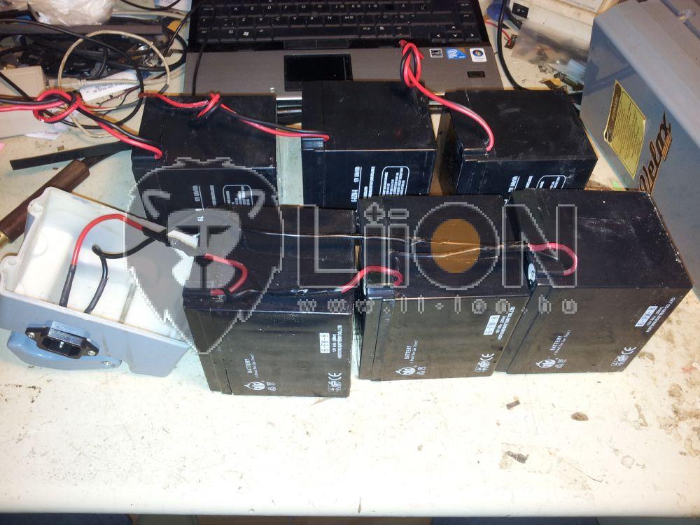 Velox 36V 12Ah 6-DZM-7 e-bikcikli akku felújítás