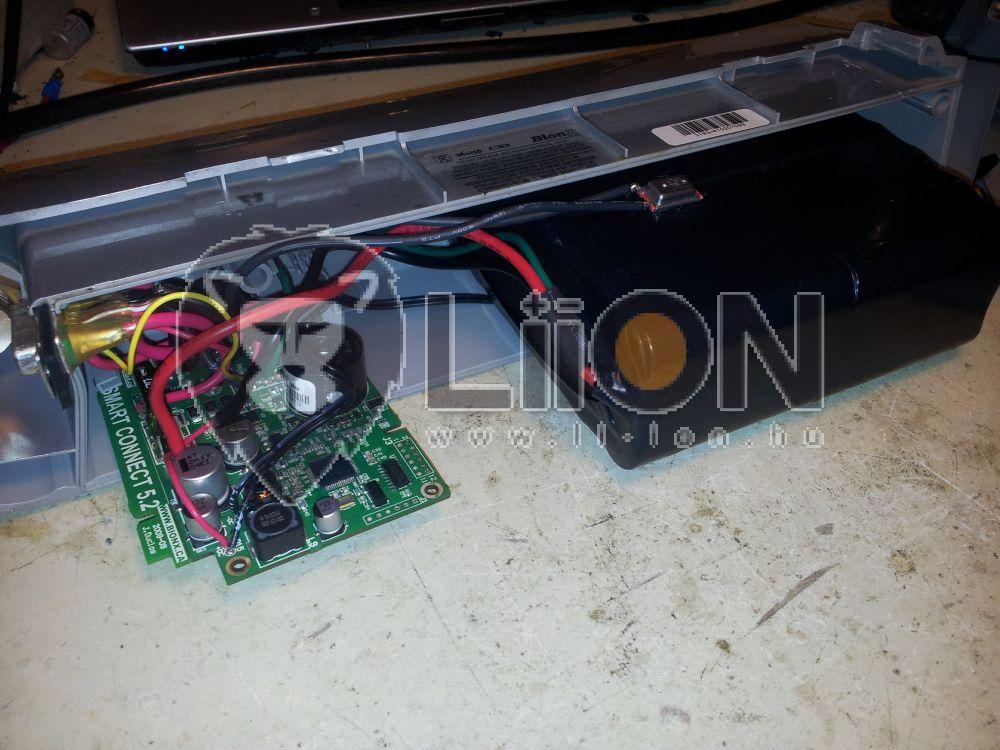 KTM Bionx 37V li-ion pedelec bike akku felújítás