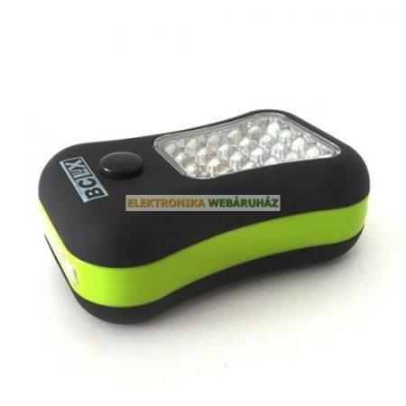 24+4 LED-es gumis lámpa