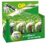 GP LED elemlámpa LOE202 + 1 x AAA GP Ultra elem