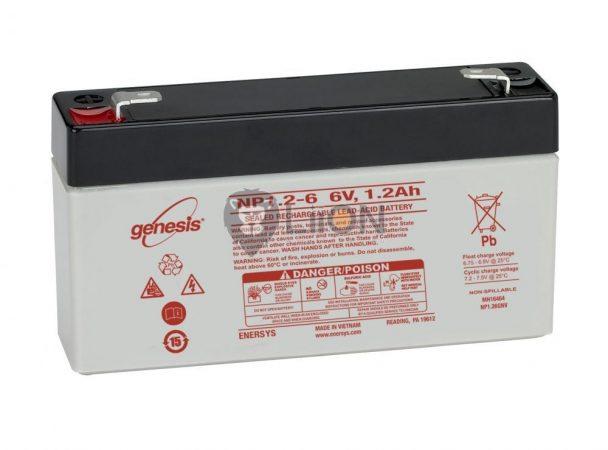 Genesis NP 6V 1,2Ah akkumulátor