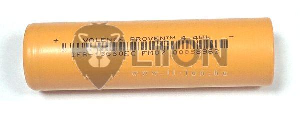 LiFePO4 IFR 18650 3,2 V 1400mAh Batterie-Zelle