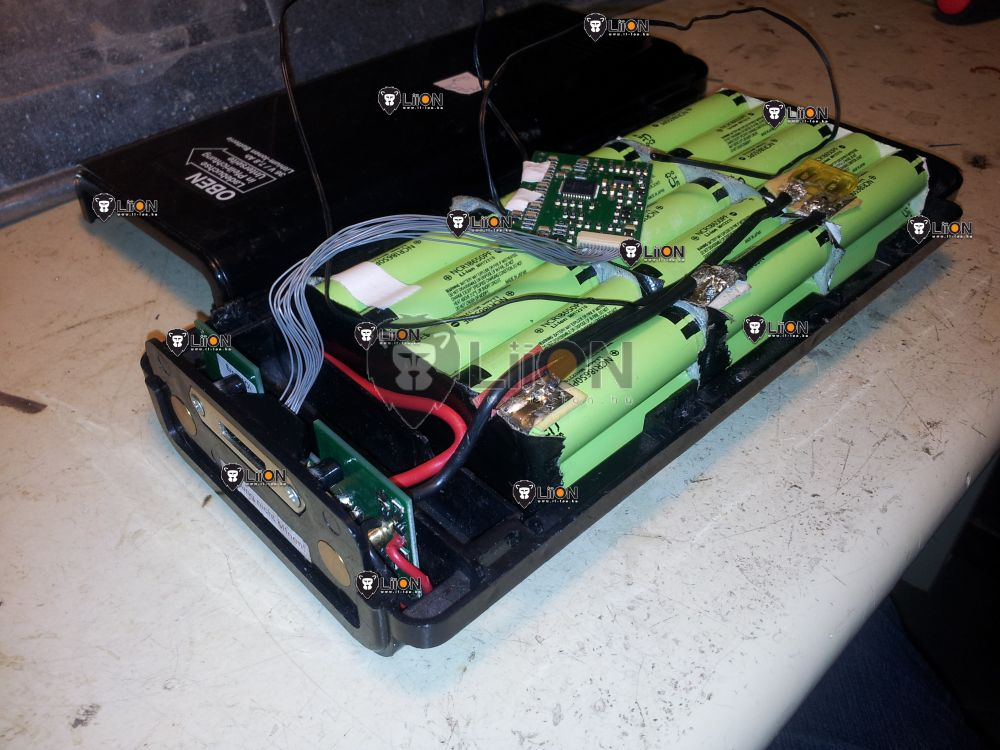 Genesis 36V li-ion pedelec elektromos bicikli akku felújítás