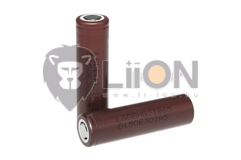 LG INR1865-HG2 3000mAh li-ion akkucella