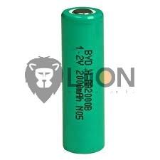 Ni-Mh 1,2 V 2000mAh AA-Batterie-Zelle