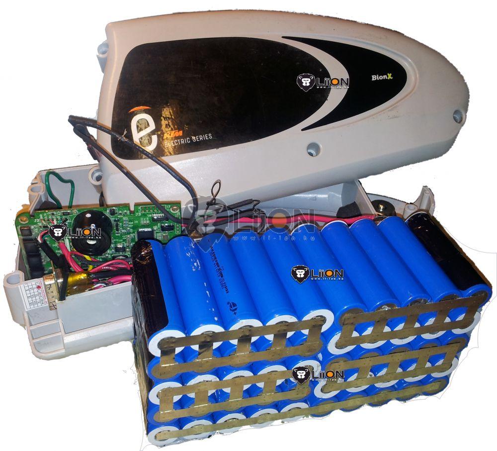 Bionx 37V li-ion pedelec e-bike akku felújítás