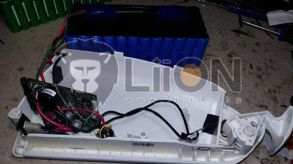 Bionx KTM pedelec e-bike akku felújítás