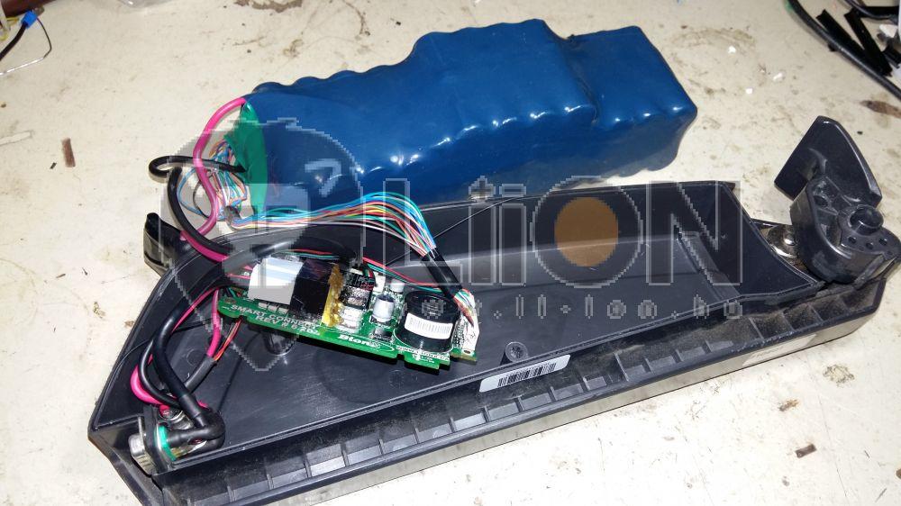 Bionx 48V li-ion pedelec bike akku újracellázás