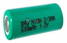 Ni-Mh 1,2V 2/3AA battery cell