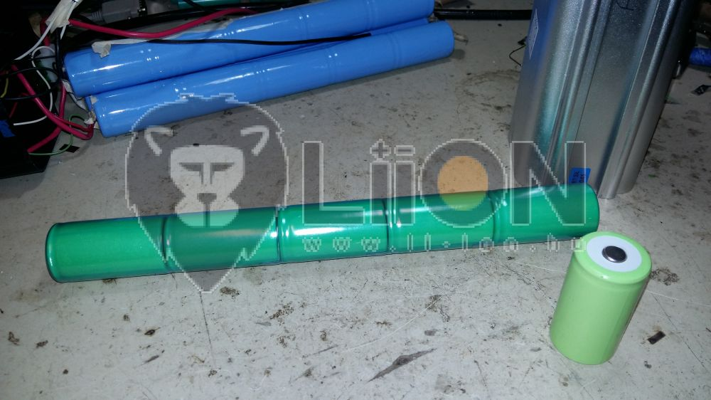 24V ni-mh pedelec e-bike akku felújítás