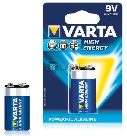 Varta High Energy 9V elem