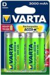 VARTA Ready 2 Use D 3000 mAh góliát akkumulátor