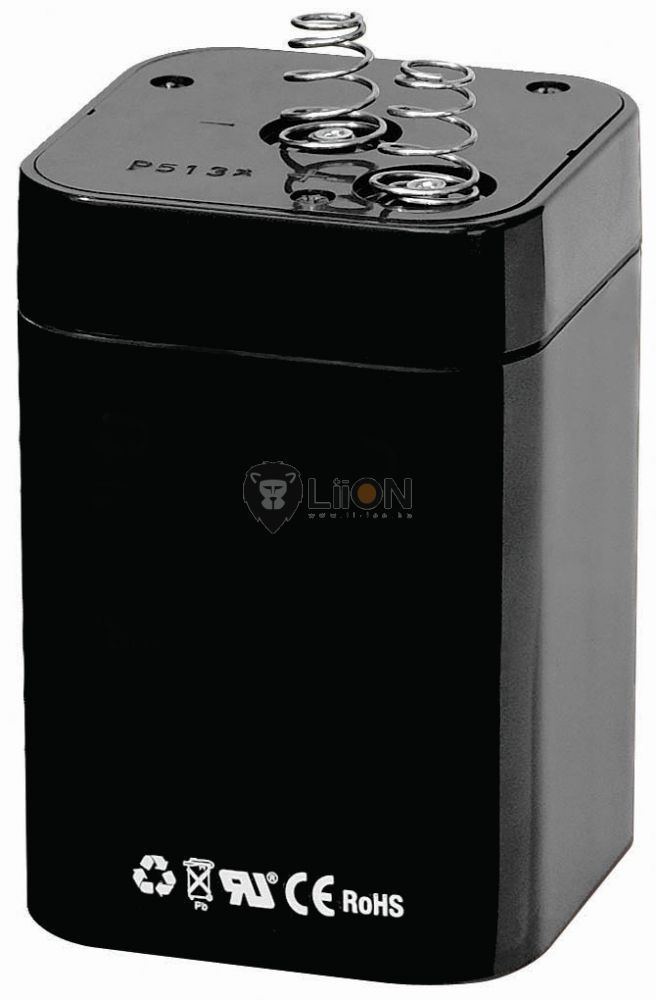 4R25 6V 4,5Ah ólom zselés akkumulátor