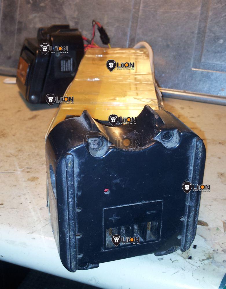 24V li-ion pedelec e-bike akku felújítás