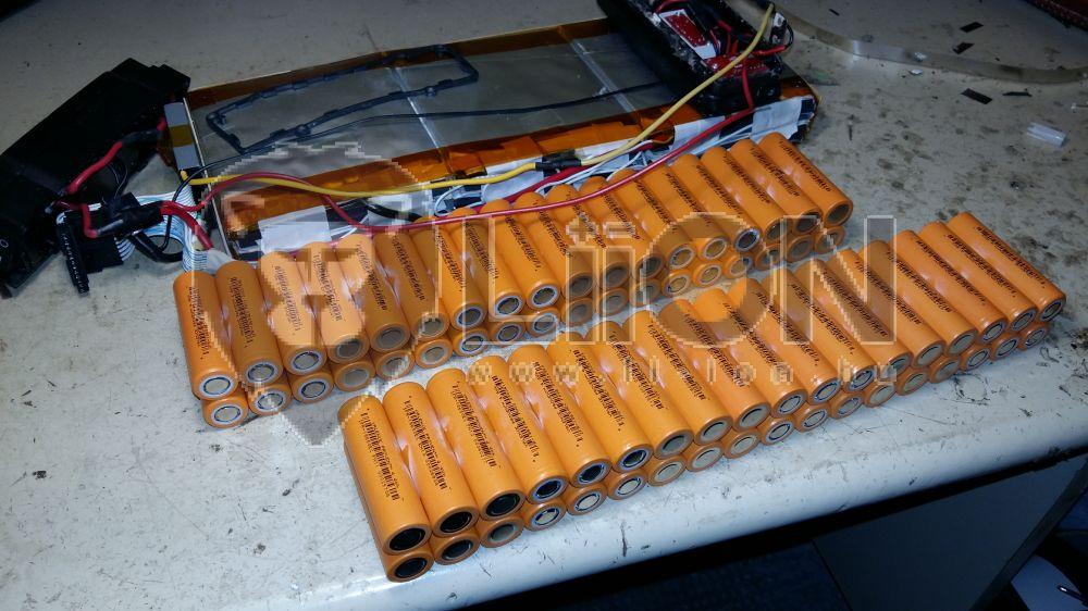 36V LiFePO4 bicikli akku felújítás