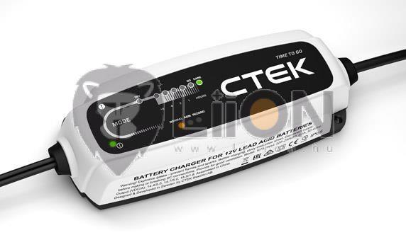 CTEK CT5 POWERSPORT EU akkumulátor töltő