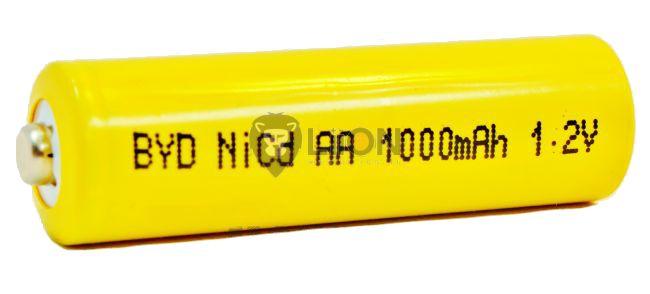 BYD AA 1000 akku ni-cd