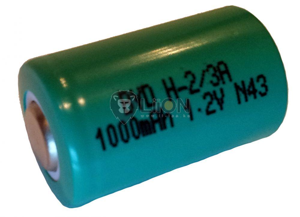 Ni-Mh 1,2 V 1100mAh 2/3A Batteriezelle