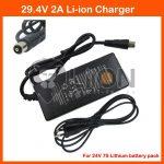 Elektromos kerékpár töltő Li-Ion 24V 2,0A RCA