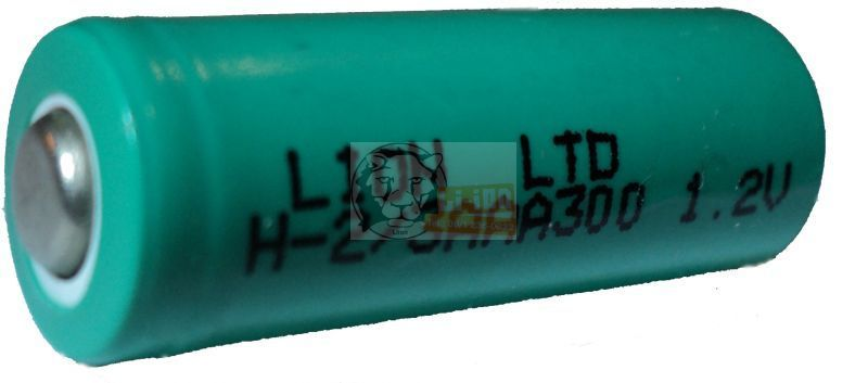 Ni-Mh 1,2V 2/3AAA battery cell