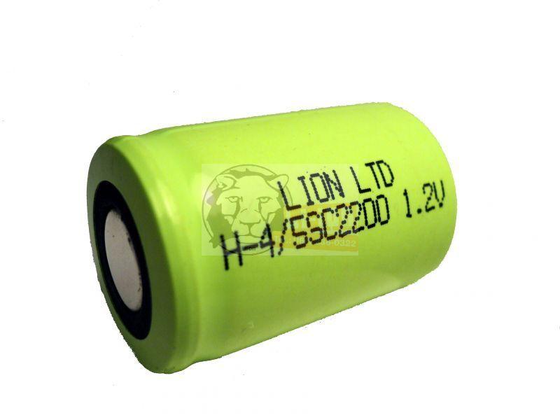 Ni-Mh 1,2V 2200mAh 4/5SC battery cell