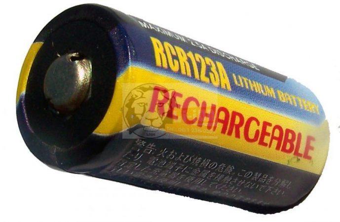 LiFePO4 3,2 V 500mAh 16340 Batteriezelle