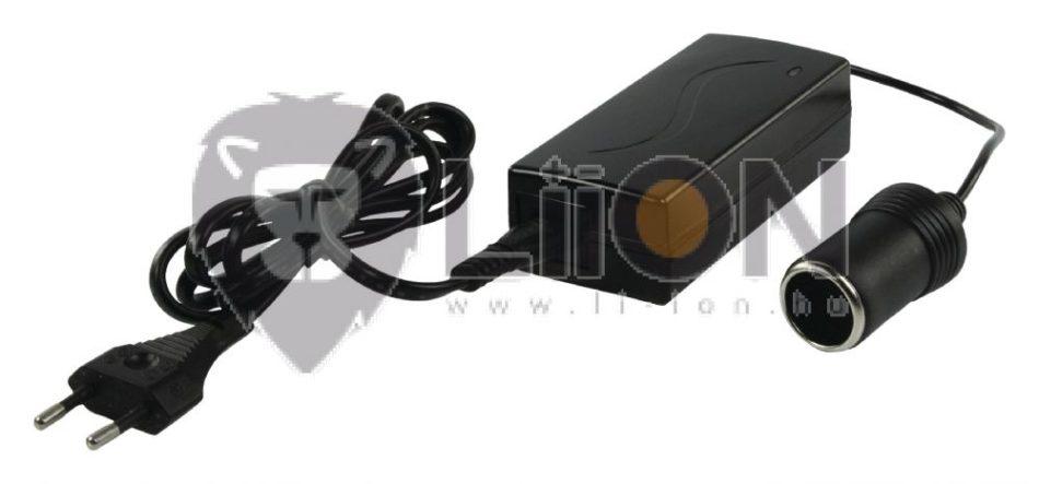 60W szivargyújtó aljzatos hálózati tápegység