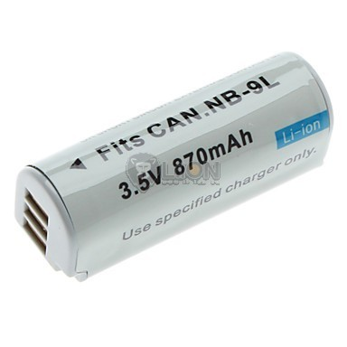 CANON NB-9L Replacement Digital Camera Battery