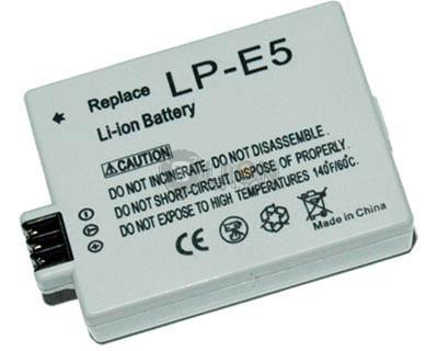 CANON LP-E5 Digital Camera Battery - Replacement
