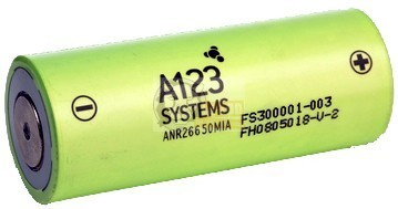 LiFePO4 ANR 26650 3,3V 2300mAh battery cell