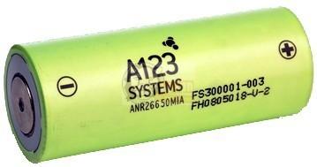 LiFePO4 ANR 26650 3,3 V 2300mAh Batterie-Zelle