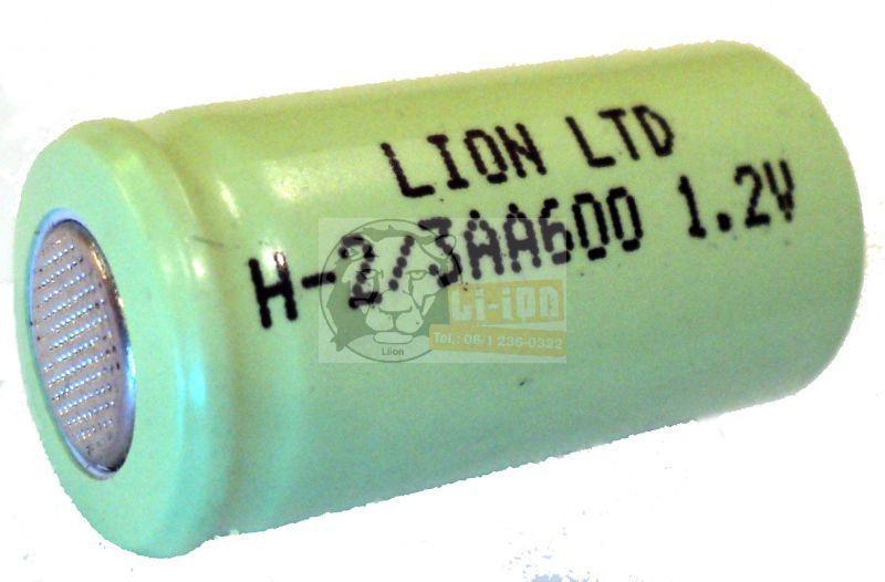 Ni-Mh 1,2V 2/3AA battery cell