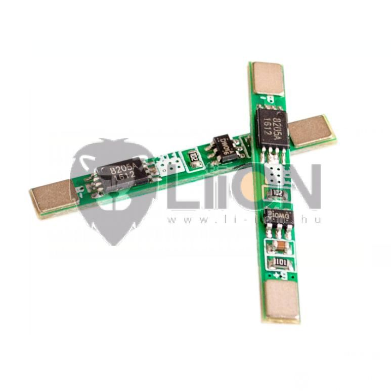 PCB – protection circuit board 3,6V 2A (li-ion , li-polymer)