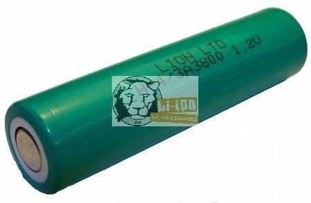 Ni-Mh 1,2V 3800mAh 4/3A battery cell