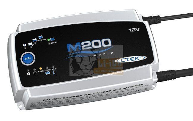 CTEK M200 hajó akkumulátor töltő