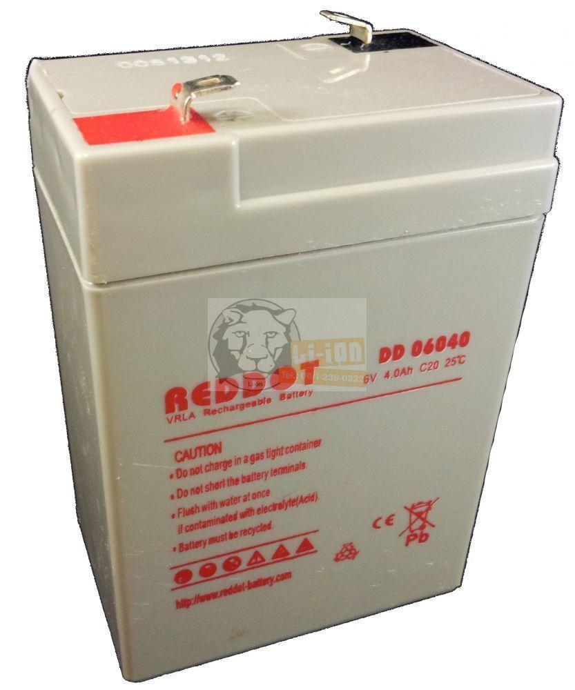 Reddot 6V 4Ah ólom zselés akkumulátor