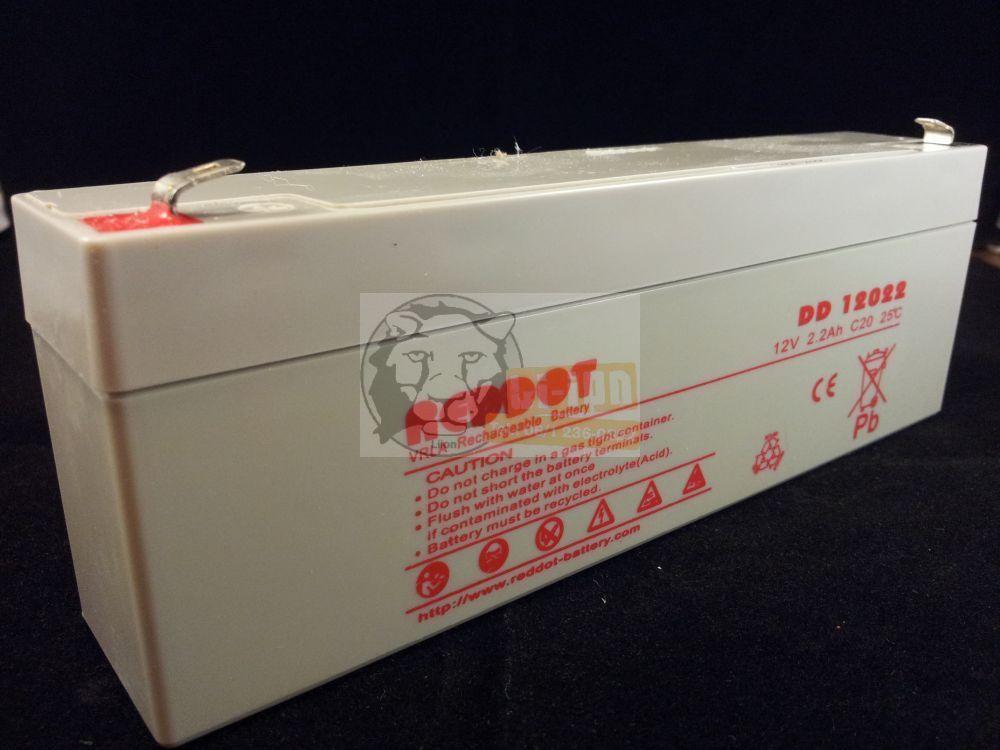 Reddot 12V 2,2Ah ólom zselés akkumulátor