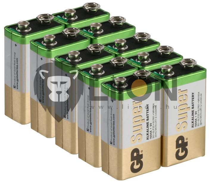 GP Ultra alkáli 9V elem 1604AU