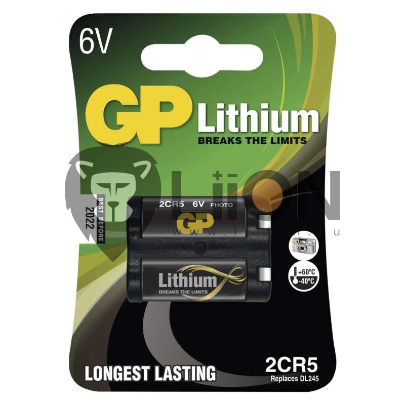 GP 2CR5 fotóelem