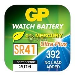 GP SR41 ezüst-oxid gombelem