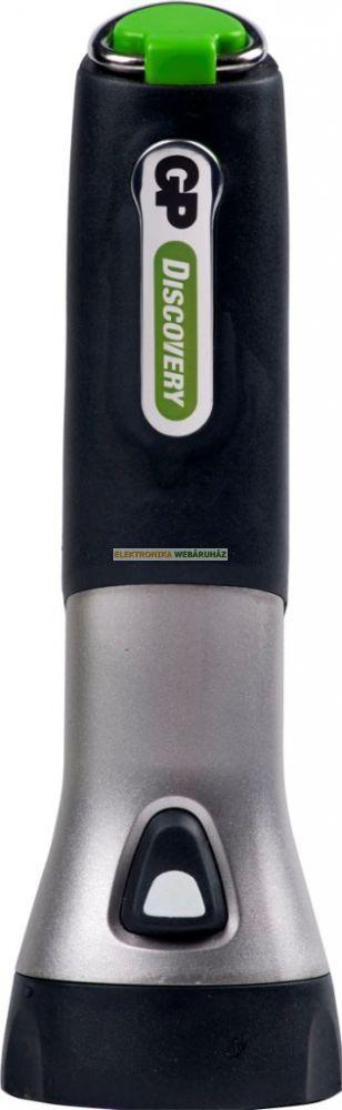 GP LED elemlámpa LWE102 + 2 x D GP Ultra elem