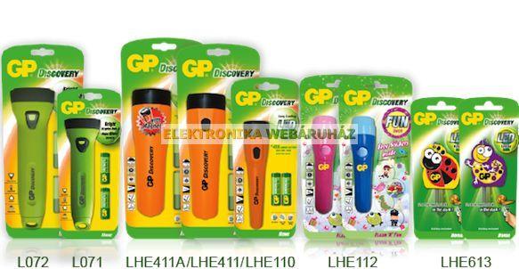 GP LED LÁMPA LHE411 + 2X R20