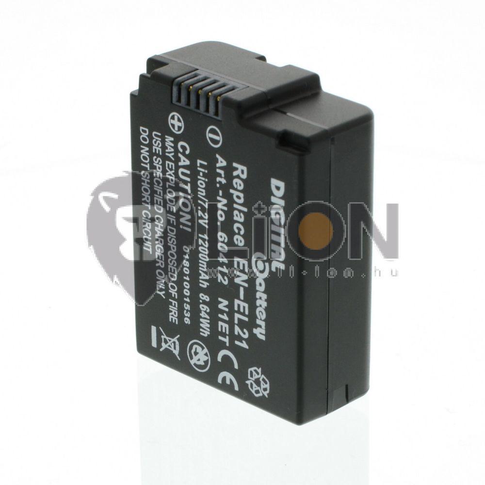 EN-EL21 akkumulátor Nikon kamerához