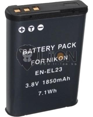 EN-EL23 akkumulátor Nikon kamerához