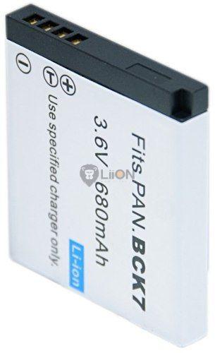 Panasonic DMW-BCK7 kamera akku utángyártott