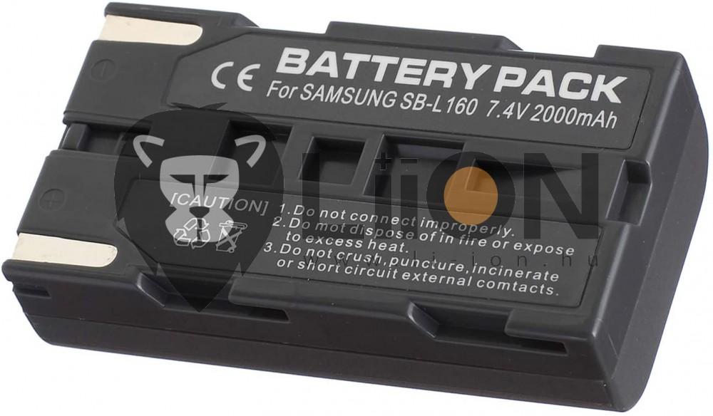 Samsung SB-L110A kamera akku utángyártott