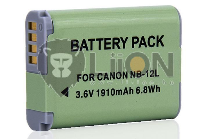 NB-12L akku Canon kamerához