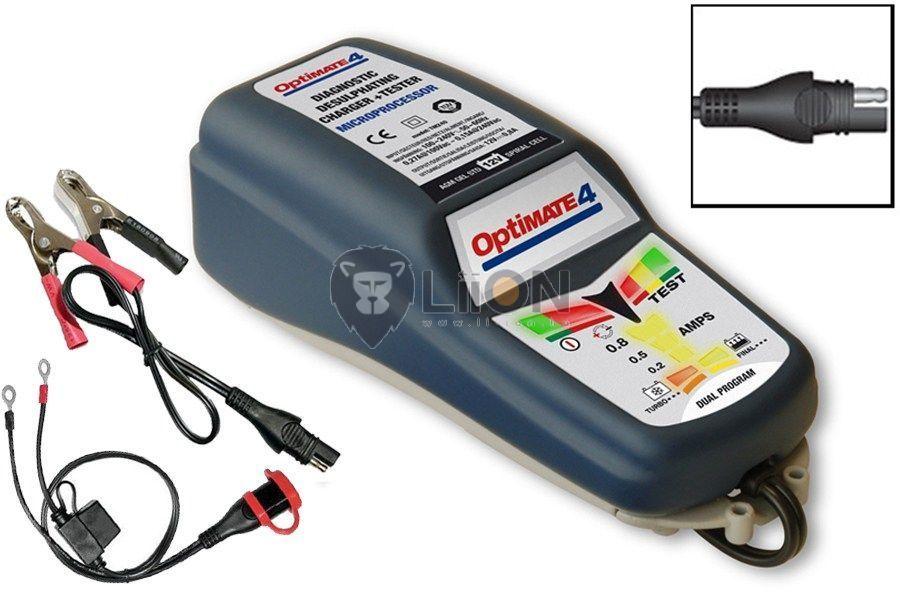 OptiMate 4 automata akkutöltő, karbantartó