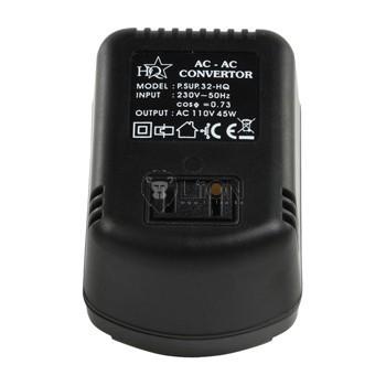 HQ45 átalakító 220V-ról 110V-ra