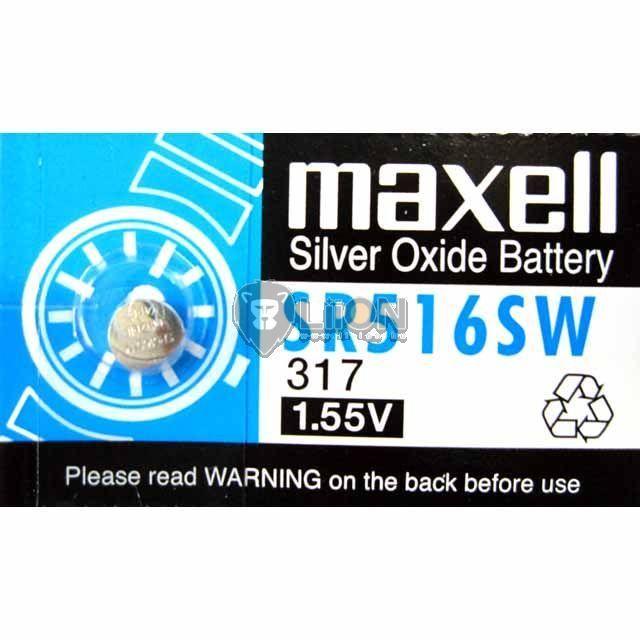 Maxell SR516SW ezüst-oxid gombelem